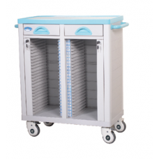 ABS Patient Record Trolley