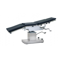 Manual hydraulic operating table