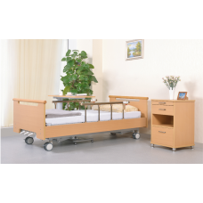 3-Function Manual Homecare Bed